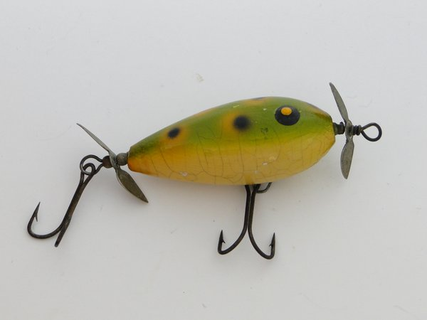South bend fly rod surf oreno fishing lure old antique for Surf fishing lures
