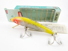 Heddon BIG Tiger 1040 Y Yellow NEW IN BOX with Paper Insert