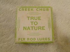 Creek Chub Fly Rod Fishing Lure Box