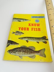 """Sports Afield """"Know Your Fish"""" Freshwater Species Specific Book"""