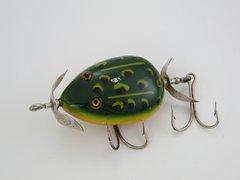 Pflueger KENT Frog Fishing Lure Weedless Hooks & Bulldog Logo