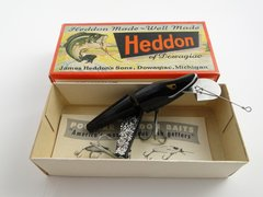 Heddon Scissortail model 9830 XBW Black Shore NEW OLD STOCK in Box!