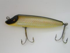 Shur Strike by Creek Chub RARE Style X 1936 Pointed Nose Wiggler 06 Fishing Lure