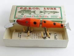 Creek Chub 2630 DD PETER'S SPECIAL Deep Dive Jointed Pikie ORANGE SPOT New In Box!
