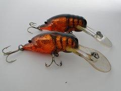 Bagleys Crawdad Fishing Lures X2