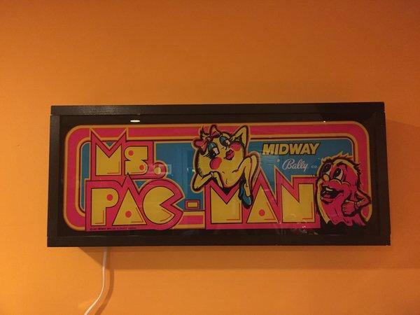 Ms Pac Man Classic Arcade Art