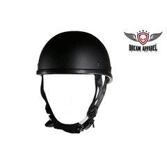 Eagle Flat Black Novelty Motorcycle Helmet