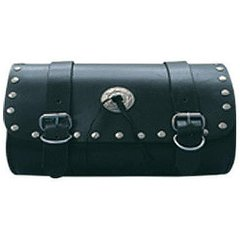 AL3521-Medium Leather Studded Tool Bag
