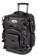 Sissy bar bag, backpack, wheeled trolley