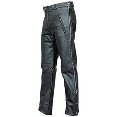 AL2510-Mens Chap Styled Leather Pants