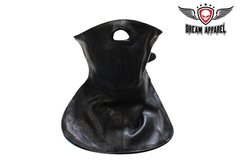 Leather Face Mask For Bikers