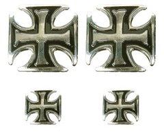 Iron Cross Pin Set
