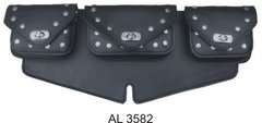 AL3582 Windshield bag Studded