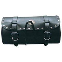 AL3501-Small Leather Studded Tool Bag