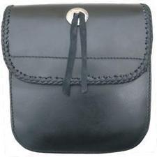 AL 3723 Medium Laced Sissy bar bag with Velcro Closure.
