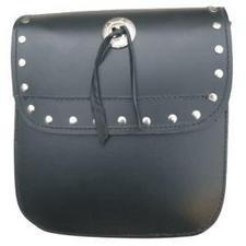 AL 3721 Medium Studded Sissy bar bag with Velcro Closure