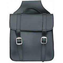 AL3610-Med plain throw-over Saddle Bag