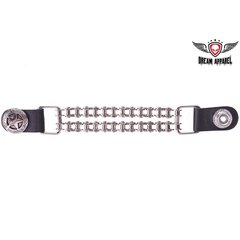 Vest Extender Police Star With Motorcycle Chain