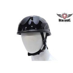 Eagle Novelty Helmet With Black Flame