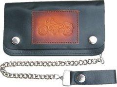 AL3286 Biker Wallet with Motorcycle design