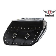 Motorcycle Saddlebag With Studs