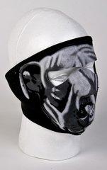 White Bulldog Face Mask