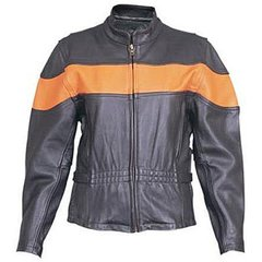 AL2171-Ladies Orange Stripe Jacket