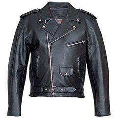 AL2010-Mens Basic Motorcycle jacket