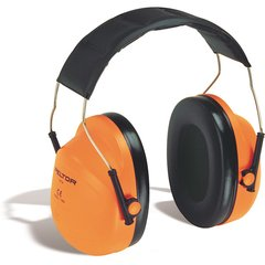 SC169 3mTM PeltorTM NRRdB 24 High Visibility Over-the-head Earmuffs#H31A ORANGE