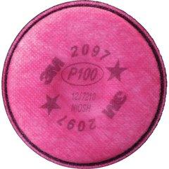 SE911 3M #2097 P100 w/Organic Vapour Respirator Prefilters 2/PK