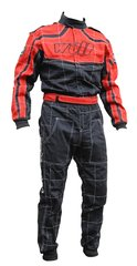 Proban fireproof red and black overalls