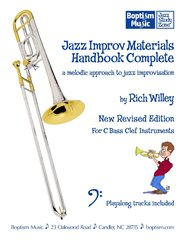 Jazz Improv Materials Handbook Complete for Bass Clef Instruments: Two-Fer