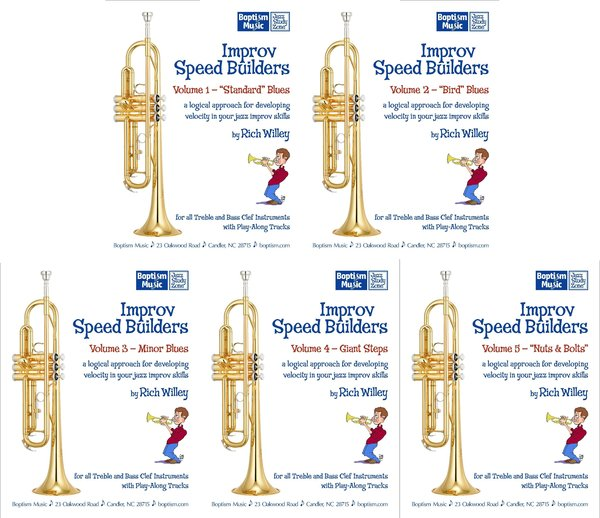 Improv Speed Builders, all five volumes