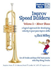 Improv Speed Builders Volume 3, Minor Blues