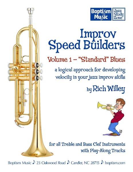Improv Speed Builders Volume 1, Standard Blues