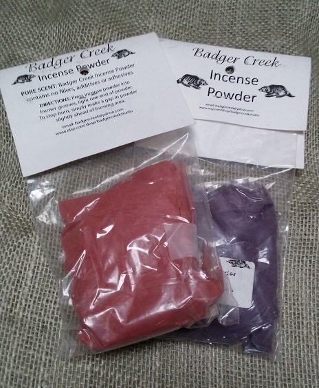 Powdered Incense Bags