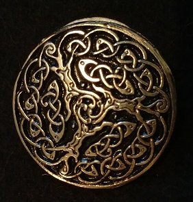 Celtic Trees 1.5inch Pewter Broach