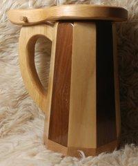 Wooden Tankard Mug #3