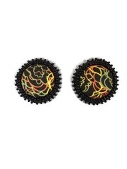 Calypso Button Earrings
