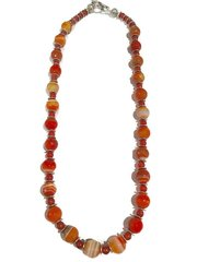 Amazing Agate Necklace and Earring Set