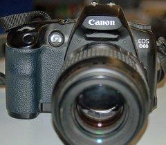Canon EOS D60 DSLR Camera