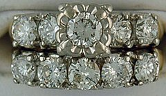 Ladies 2ctw Diamond Wedding and Engagement Set