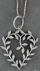 1/8ctw Diamond Heart on a Chain