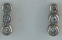 3/8ctw Diamond Earrings