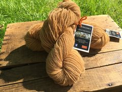 Spring Exclusive Single Batch Soft Peach Hand Dyed Alpaca/Wool Yarn Blend
