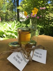 2 oz. Raw Wildflower Honey Party Favors