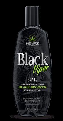 Hempz Black Viper 20x Black Bronzer