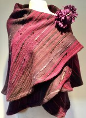 CAPE. Handwoven Wool Cape 043. SOLD OUT