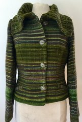 JACKET. Handwoven Wool Jacket 005. SOLD OUT