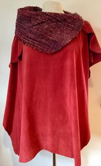 Suede Poncho 011 SOLD OUT